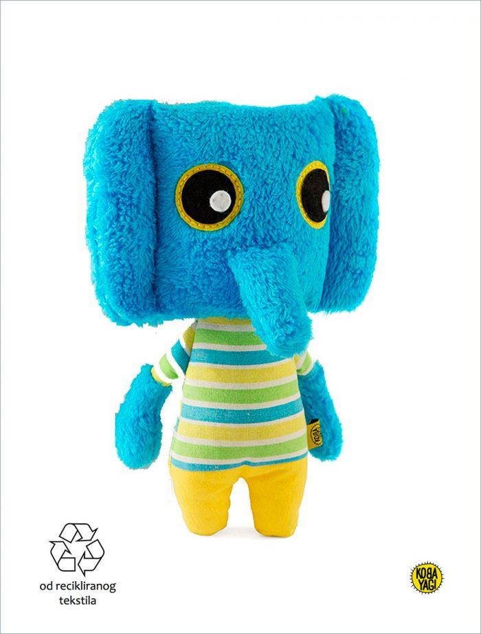 koba-yagi-plišane-igračke-reciklaza-recklirani-materijal-slon