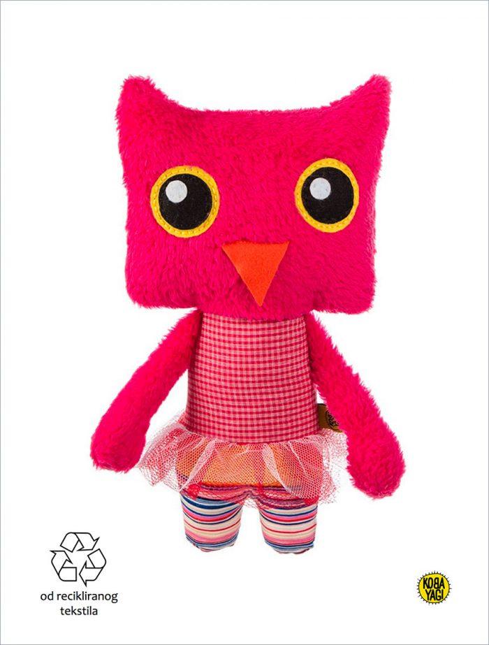 koba-yagi-plišane-igračke-reciklaza-recklirani-materijal-sova