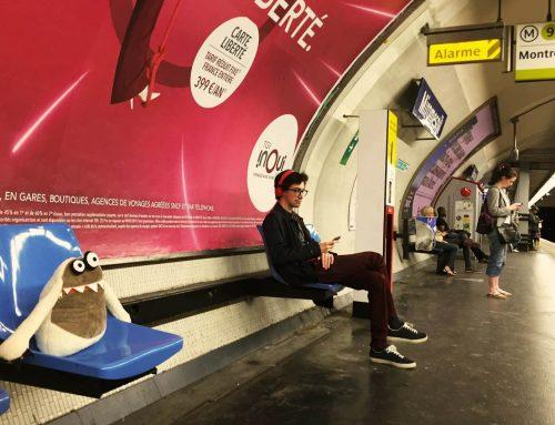 Mr Hag čekajući Metro